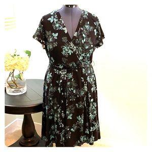 Torrid Faux Wrap Dress NWT Size 1X